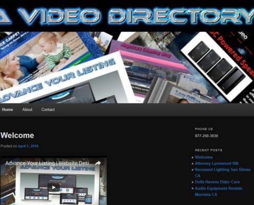 A Video Directory