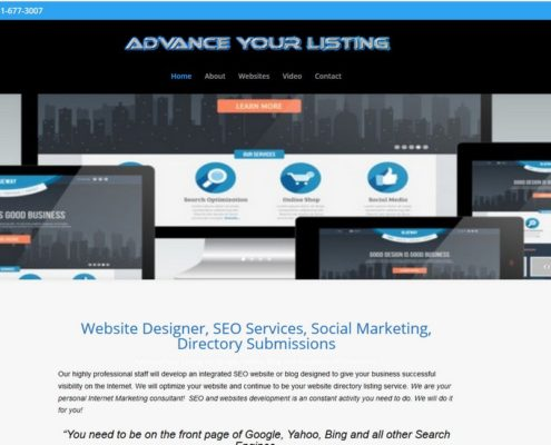 Advance Your Listing